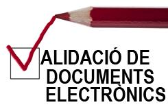 Validació de documents electrònics