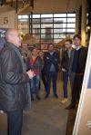 """Visita inaugural de l'Exposició """"10 anys de Pla de Barris"""""""