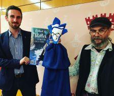 Isidre Pineda, regidor de Cultura, i Manel Ricart, director artístic, presenten el Festival de Titelles 2016