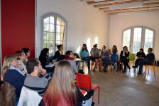 Assistents a la tercera sessió del Grup Impulsor del PEC