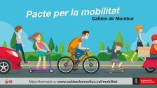 Bona acollida al Pacte per la mobilitat de Caldes de Montbui