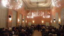 Orquestra Municipal de Caldes de Montbui en el seu debut