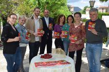 Roda de premsa XV Jornades Gastronòmiques de les Cireres als jardins del Balneari Broquetas