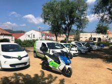 Presentació de la flota de vehicles elèctrics