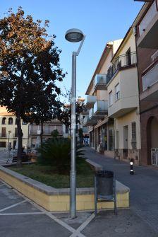 Adequació de l'enllumenat de la plaça Moreu