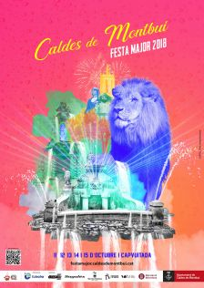 Cartell de Festa Major 2018