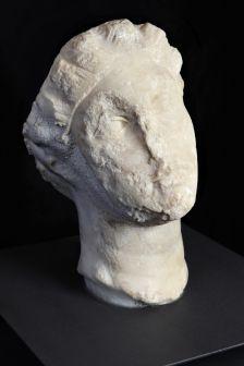 Bust romà trobat Caldes de Montbui