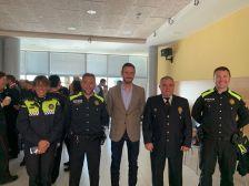 D'esquerra a dreta: Rosario Carpio, Jose Antonio Velasco, Isidre Pineda, Manel Ruiz i Marc Casamian
