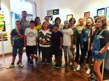 Alumnes joves del Taller d'Art Municipal