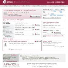 Imatge de la web de l'Organisme de Gestió Tributària