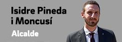 Pàgina de l'alcalde Isidre Pineda i Moncusí