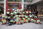 Foto de grup amb els diplomes