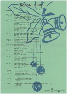 Programa de Nadal de l'any 1988