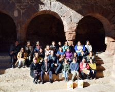 Visita d'educadors xilens a Caldes de Montbui
